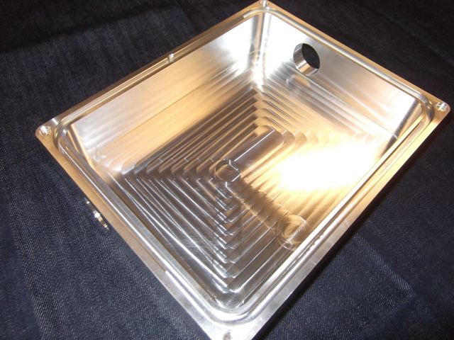 Example of CNC Milling Machining Services – Aluminum Box
