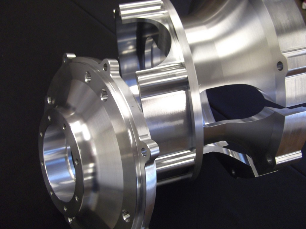 WaterJet and Multi-Axis Turning Center Power Transmission Assembly