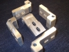 Example of CNC Milling Machining – Hinges from 6061 Aluminum